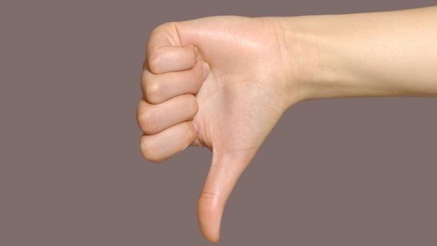 Gesture 1 (thumb down)
