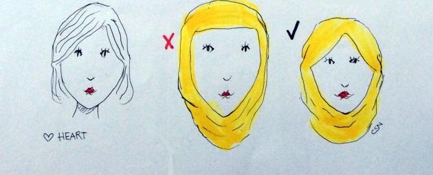 HijabXHeartShapeFace