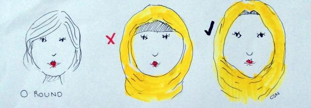 HijabXRoundShapeFace