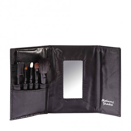 5p-brush-set-with-mirror-black